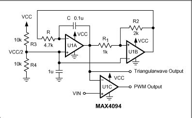 Pulse Width Modulator Operates Various Levels
