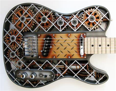 3ders org olaf diegel s spectacular steunk 3d printed guitar 3d printer news 3d