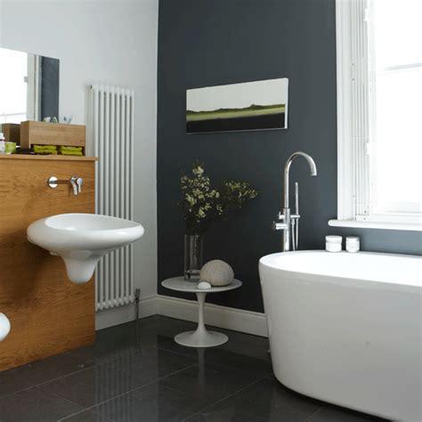 Grey Bathroom  Decorating Ideas Housetohomecouk