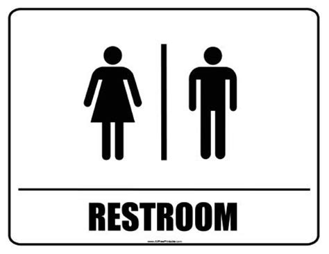 Printable Bathroom Signs by Toilet Coloring Pages