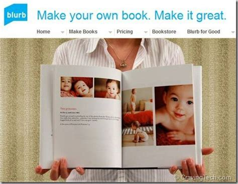 Make Your Own Book With Blurb