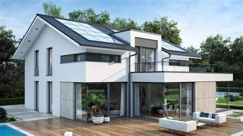 Einfamilienhaus Bauen  Hausbeispiele Mit Grundrissen