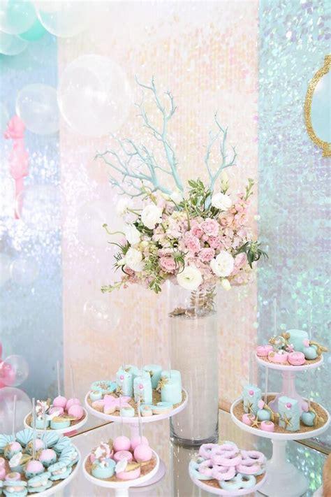 Kara's Party Ideas Mermaid Oasis Themed Birthday Party