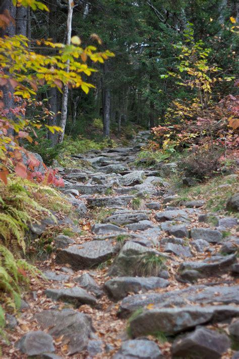 stock photo  hiking path pathway