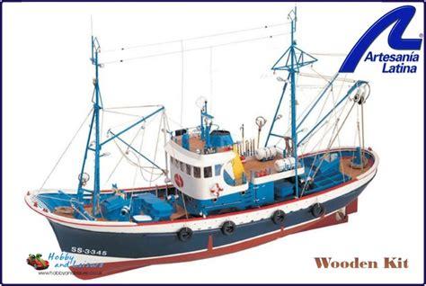 Fishing Boat Model Kits by Marina Ii Fishing Boat Artesania Wooden Ship 1 50