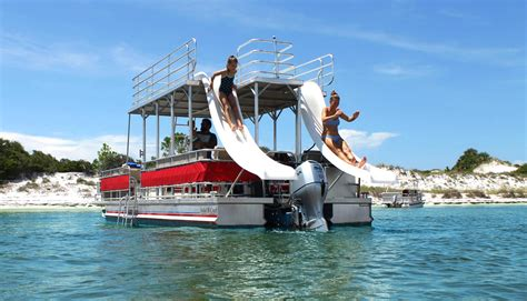 Panama City Boat Rentals by Pontoon Rentals In Panama City Reserve Your Boat