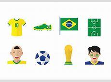Vector Brasil Soccer Icons Download Free Vector Art