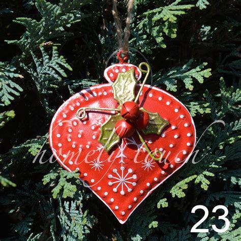 vintage style luxury christmas tree decorations hanging