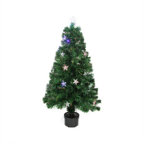 christmas trees at walmart willows ca 4 pre lit led color changing fiber optic artificial