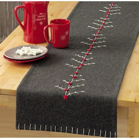 tischlaeufer fuer weihnachten selber naehen mehr als deko