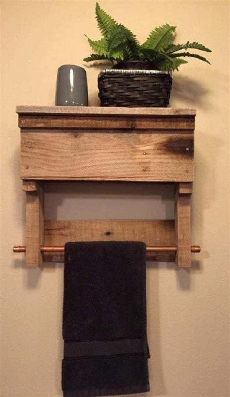 diy pallet towel rack  shelf pallet furniture plans