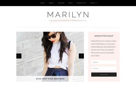 marilyn feminine fashion wordpress theme l bluchic