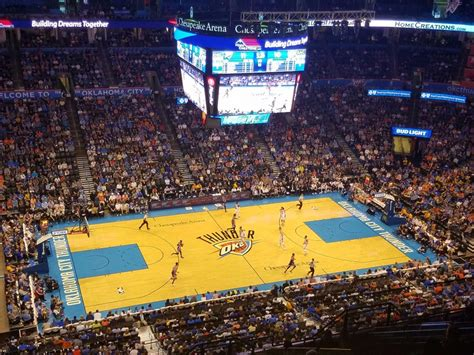 Chesapeake Energy Arena – Oklahoma City Thunder | Stadium ...