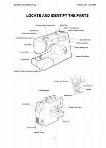 Kenmore 385 15208400 Sewing Machine Service Manual In 2020