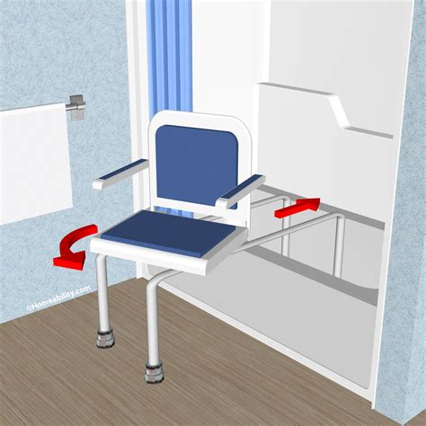 sliding shower chairs for elderly sliding swivel bath seats which type is right for you
