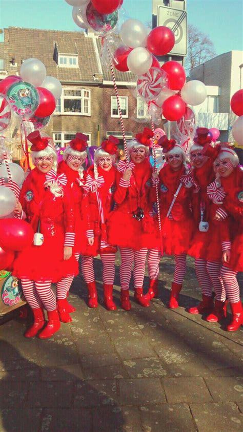 rot weiss suessigkeiten kostueme gruppenkostueme karneval
