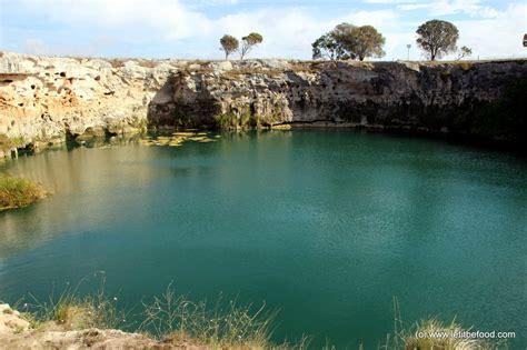 blue lake south australia  march