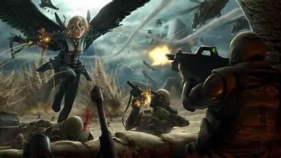 Epic Fantasy Wallpapers War Dark Wide Battle