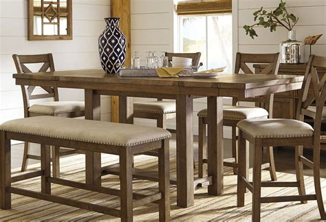 moriville counter height dining table signature design