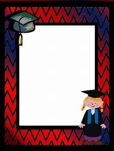 Background Pages ~ Graduation | Clip art, Activities and ...