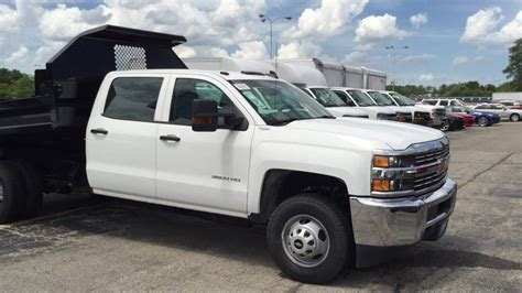 Silverado Crew Cab Dump Truck For Sale Wheeling
