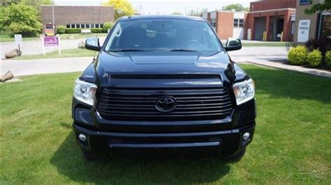 Toyota Platinum Warranty by 2015 Toyota Tundra Platinum V8 4x4 Black On Black Leather