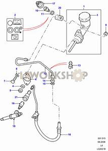 Clutch Master Cylinder  U0026 Pipes