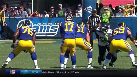seahawks  rams week  post game highlights nfl youtube