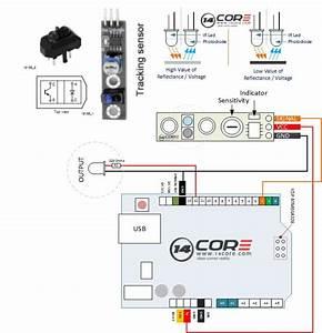 Wiring The Tcrt5000 Reflective Optical Sensor Module