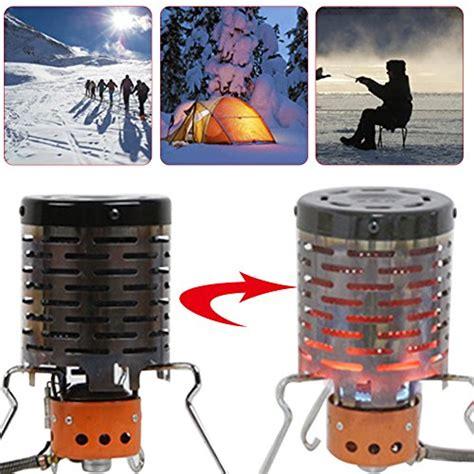 junda portable camping stove mini tent heating stove  outdoor backpacking hiking traveling