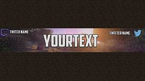 Channel Art Template (Photoshop) (5) by ItsRushed on ...
