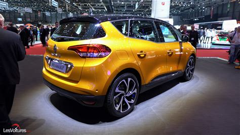 renault scenic   geneve  les voitures