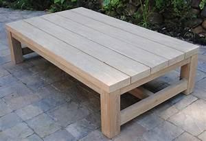 wood teak outdoor coffee table wood table rustic With rustic outdoor wood coffee table