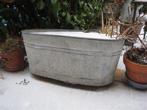 baignoires en zinc