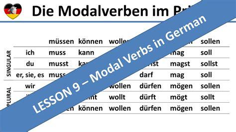 modal verbs modalverben learn german lesson