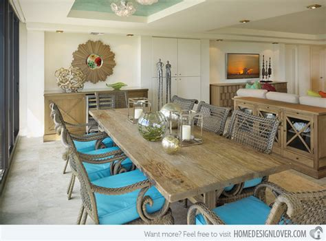 coastal kitchen table 15 themed dining room ideas home design lover 2284