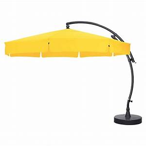 Ampelschirm Sun Garden : sunfun ampelschirm sungarden gelb durchmesser 350 cm 8295 sonnenschirme icfa ~ Frokenaadalensverden.com Haus und Dekorationen