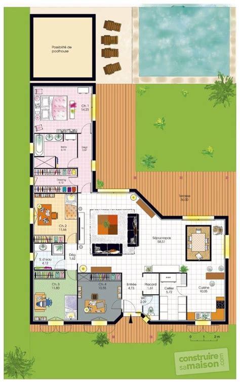 ardoise cuisine deco plan interieur maison en l top plan interieur maison en l