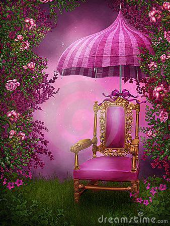 pink chair  umbrella photoshop   studio