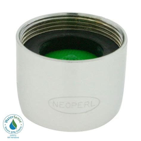 neoperl 1 5 gpm small female water saving faucet aerator
