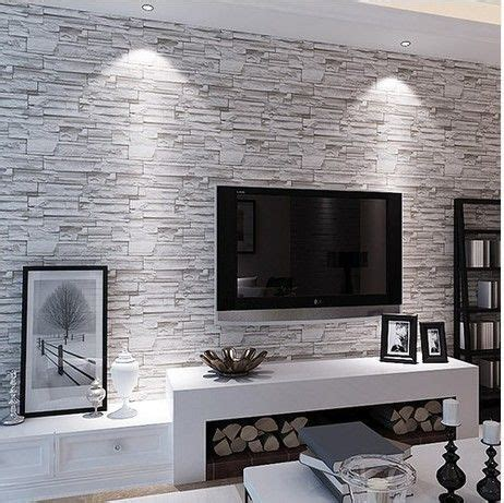 Living Room Wallpaper Grey Walls by Brick Wall Paper Living Room Walls Wallpaper Rolls