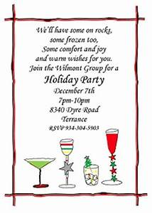 Christmas Cocktail Party Invitations Selection 2017