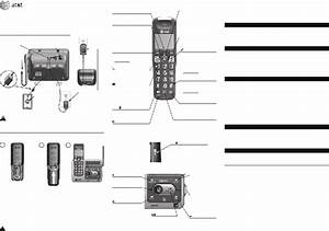 At U0026t Crl82112 Telephone Accessories Quick Start Manual Pdf