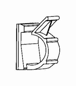 2016 Ram 2500 Clip  Wiring  Sensor  Pillar  Impact