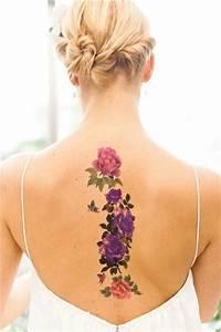 Kleiner Schmetterling Tattoo : die besten 25 blume r cken tattoos ideen auf pinterest r cken t towierung lotus t towierung ~ Frokenaadalensverden.com Haus und Dekorationen