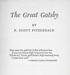 Love Great Gats... Useful Gatsby Quotes