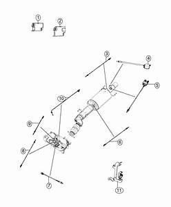 Dodge Ram 2500 Sensor  Particulate Matter  Catalytic  Urea  Selective