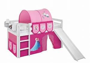 Eiskönigin Bett 90x200 : halbhochbett mit rutsche ~ Whattoseeinmadrid.com Haus und Dekorationen