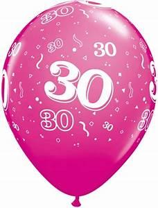 30 Dinge Zum 30 Geburtstag : helium luftballon zahl 30 zum 30 geburtstag 28 cm ~ Bigdaddyawards.com Haus und Dekorationen