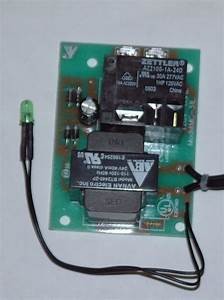 Pc Board 120v With Relay Transformer Led Light And Wire Leads  U2013 Manufacturer Of Vacumaid Central